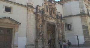 Iron Door of the University of Coimbra